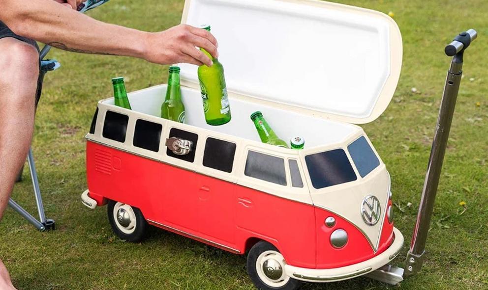 Boire ET conduire : un mini combi VW pour garder les bières au frais