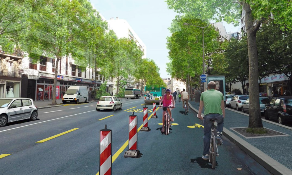 Toutes les pistes cyclables temporaires enfin disponibles sur une carte interactive