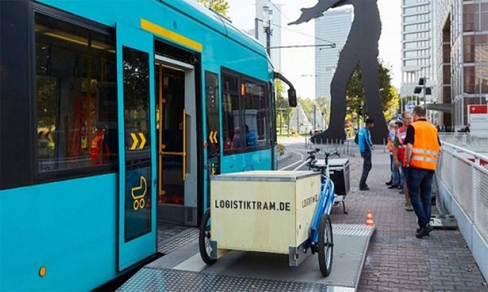 En Allemagne, les tramways servent aussi à livrer des colis