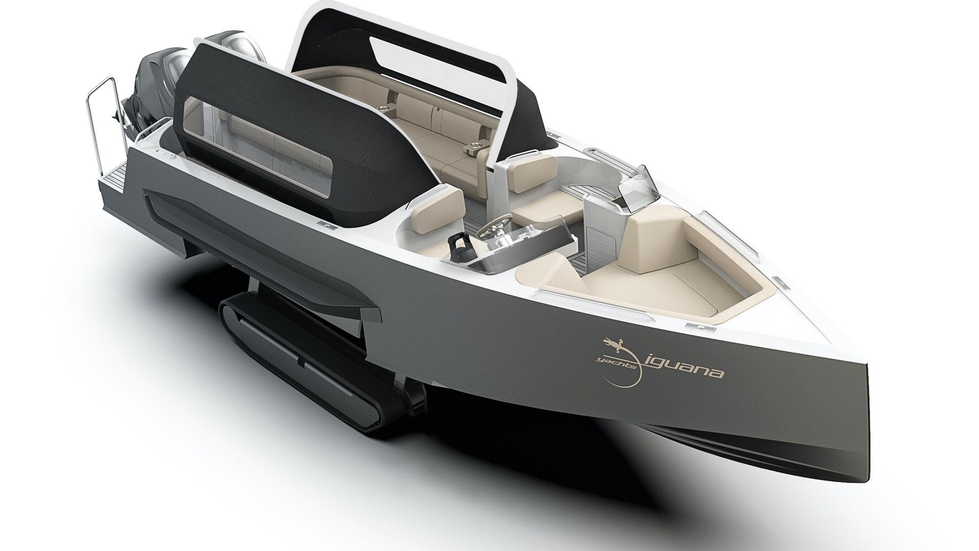 Qui veut rouler dans ce yacht limousine électrique ?