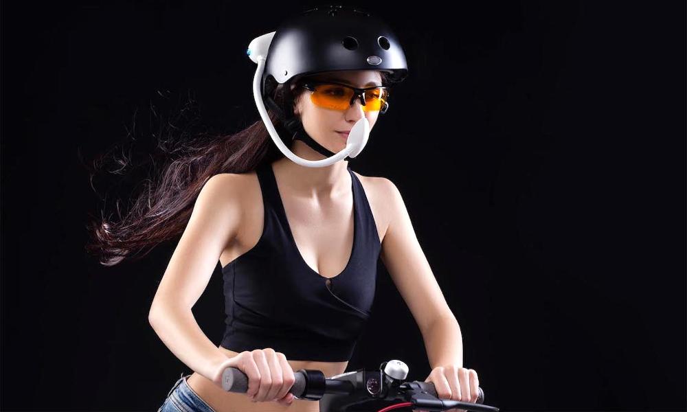 I-Wind : un aspirateur d'air pollué pour les cyclistes