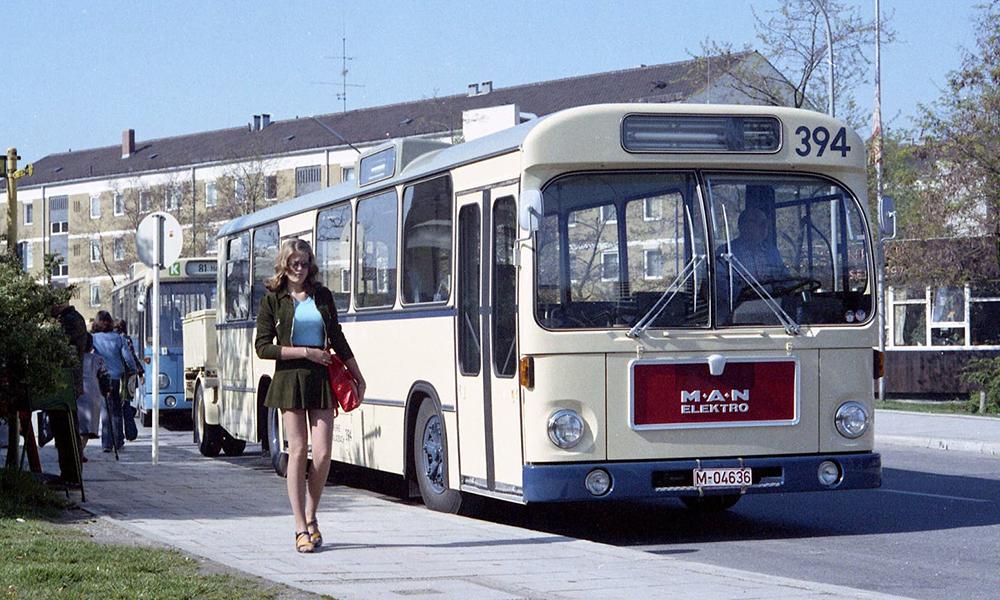 En Allemagne, des bus électriques roulaient déjà il y a… 50 ans