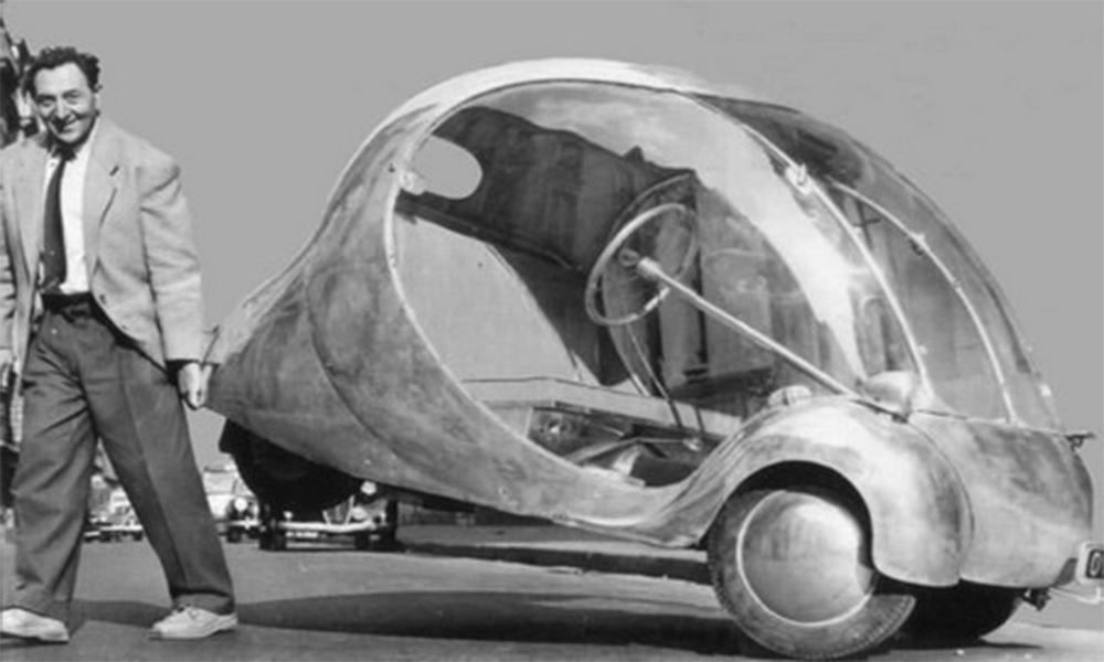 En pleine Seconde Guerre mondiale, il construit sa propre voiture électrique