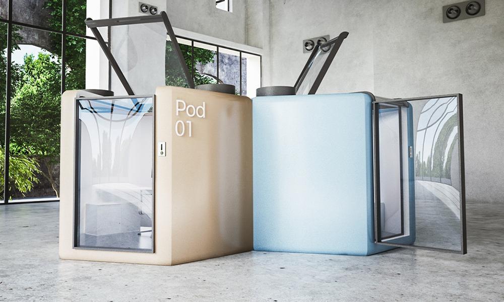 Plus jamais d'open space grâce à ces bureaux confinés