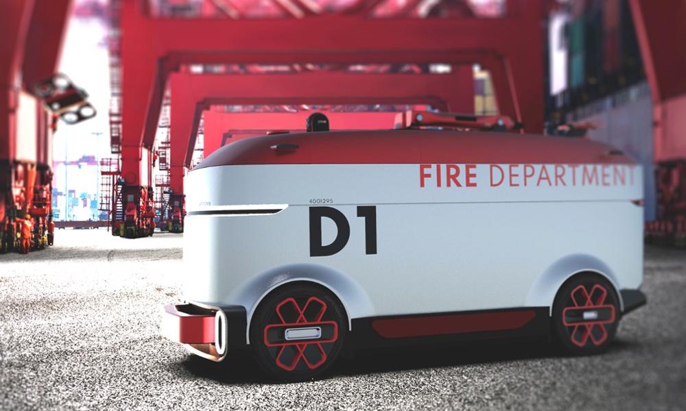 Ce camion autonome n'a pas besoin de pompiers pour éteindre les incendies