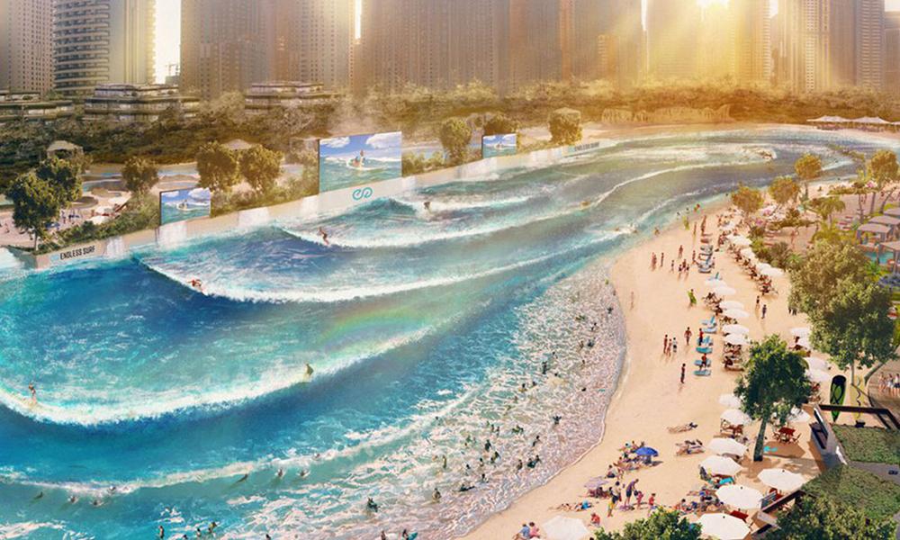 À Paris, bientôt une immense piscine à vague pour surfer tout l'été