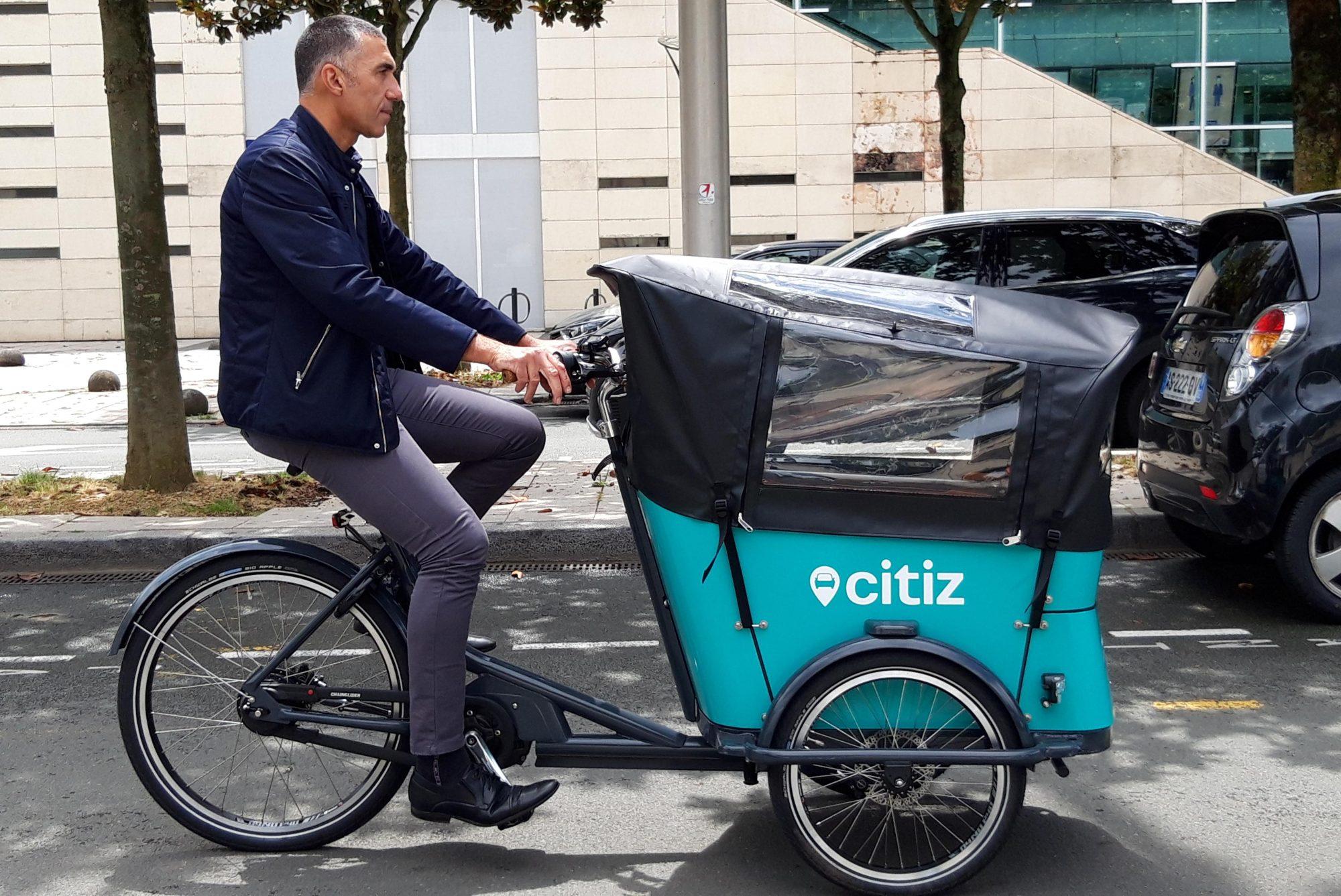 Citiz : un service pour faire ses courses dans un vélo cargo à 2 € de l'heure
