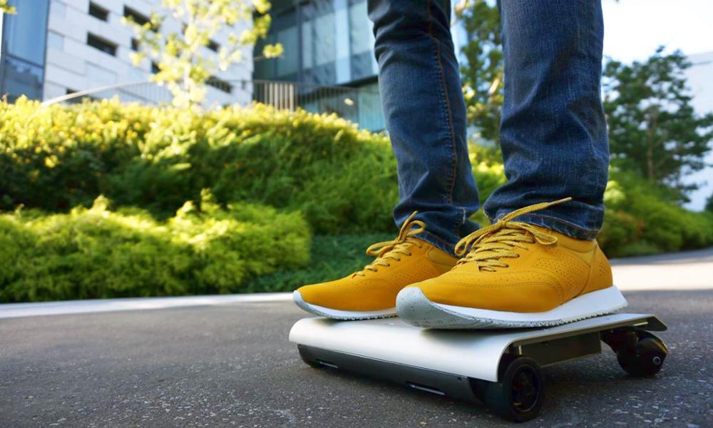 Le Walkcar, un gyropode de la taille d'un laptop qui fonce à 16 km/h