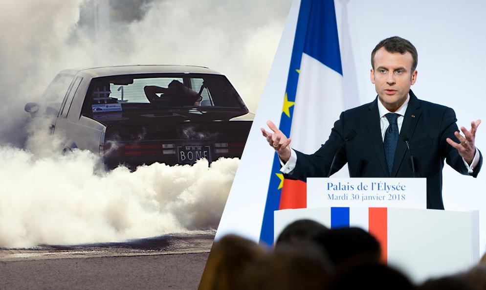 Merci Macron : les voitures polluantes seront bientôt plus chères à assurer