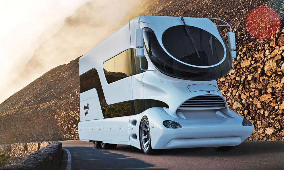 Ce camping-car à 3 millions d'euros est le plus luxueux de tous les temps