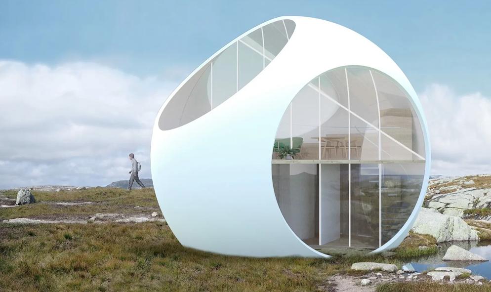 Cette maison-œuf promet la plus belle des distances sociales