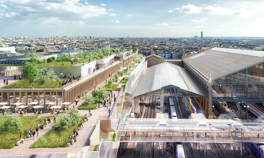 Plus grande, plus haute, plus verte : voici la future gare du Nord