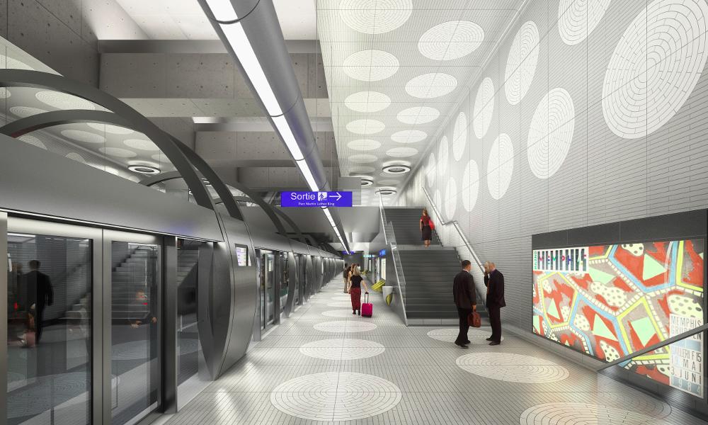 4 nouvelles stations de métro ouvriront bientôt à Paris