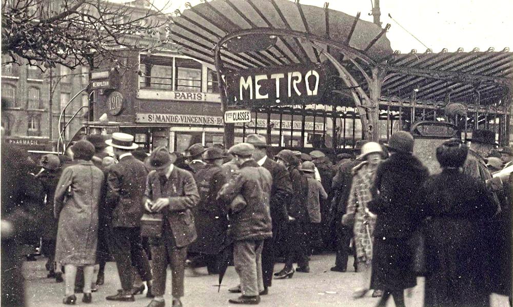 Il y a pile 120 ans, les Parisiens découvraient le métro