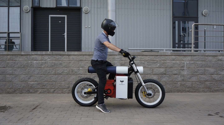Venue de l'est, cette moto électrique est plus solide que Vladimir Poutine