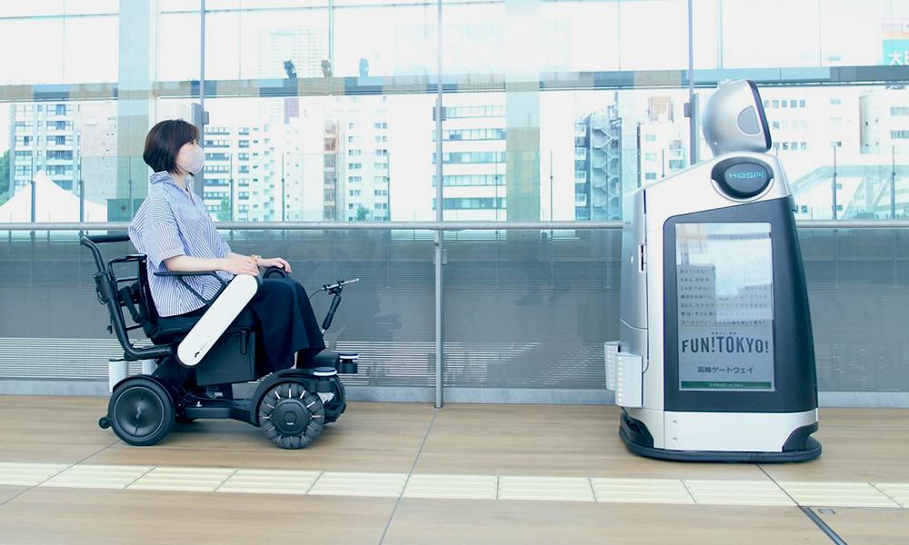 À Tokyo, ce robot aide les personnes à mobilité réduite dans les gares