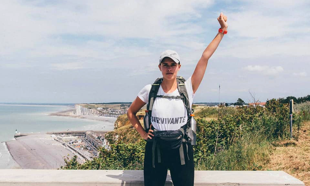 Elle fait 10 000 km à pied pour dénoncer les violences sexistes
