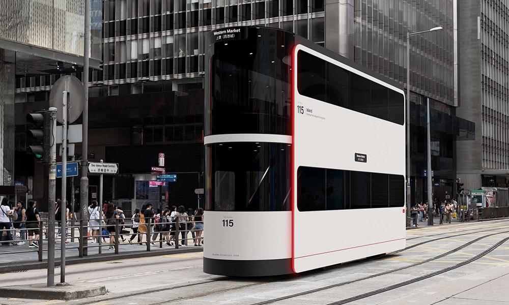 Ce tram sans chauffeur pourrait vous réconcilier avec les transports en commun