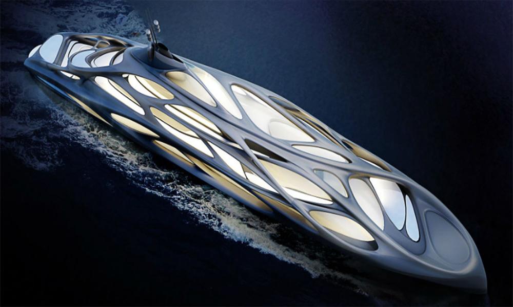 Ce Yacht extraterrestre pourrait bientôt prendre la mer