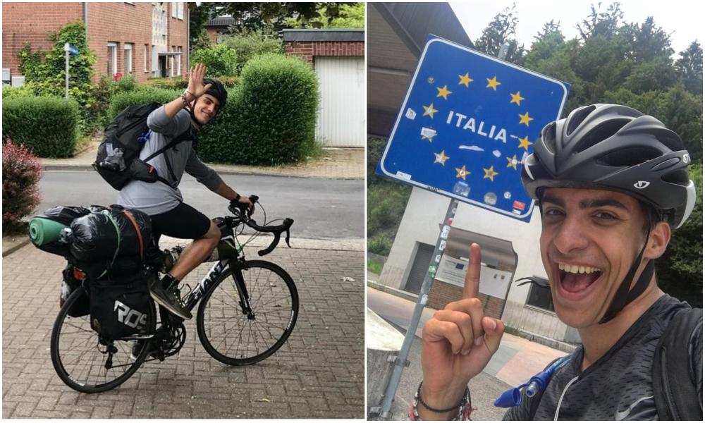 Bloqué en Écosse, ce Grec fait 3500 km à vélo pour rentrer chez lui