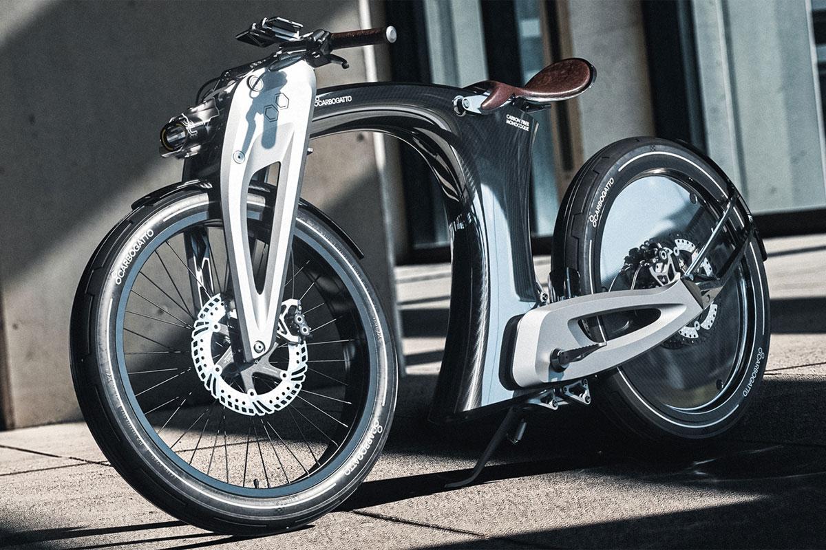 Ceci n'est pas une moto, c'est un vélo électrique