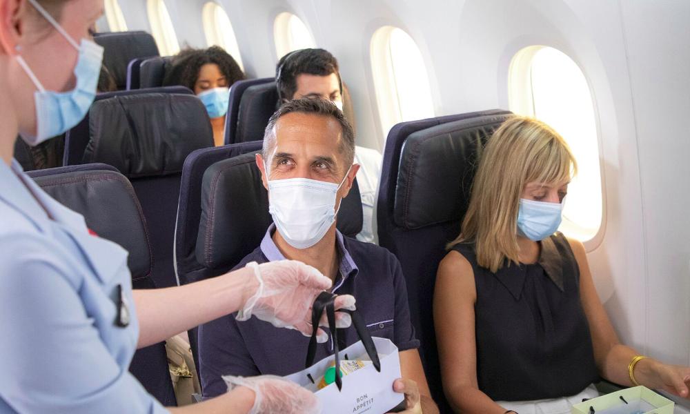 Selon une étude, vos chances d'attraper le coronavirus en avion sont d'1 sur 4300