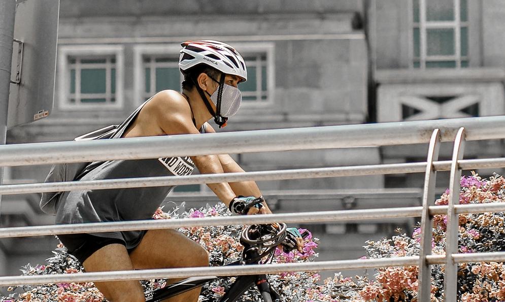 Débat : porter un masque à vélo, à quoi ça sert ?