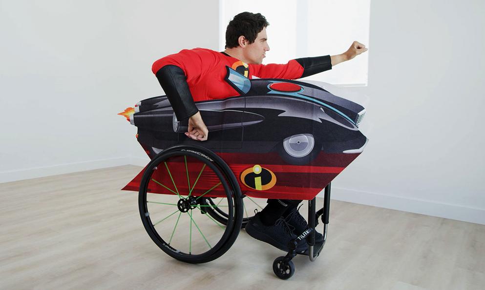 """Handicap : Disney lance des """"costumes pour fauteuils roulants"""""""