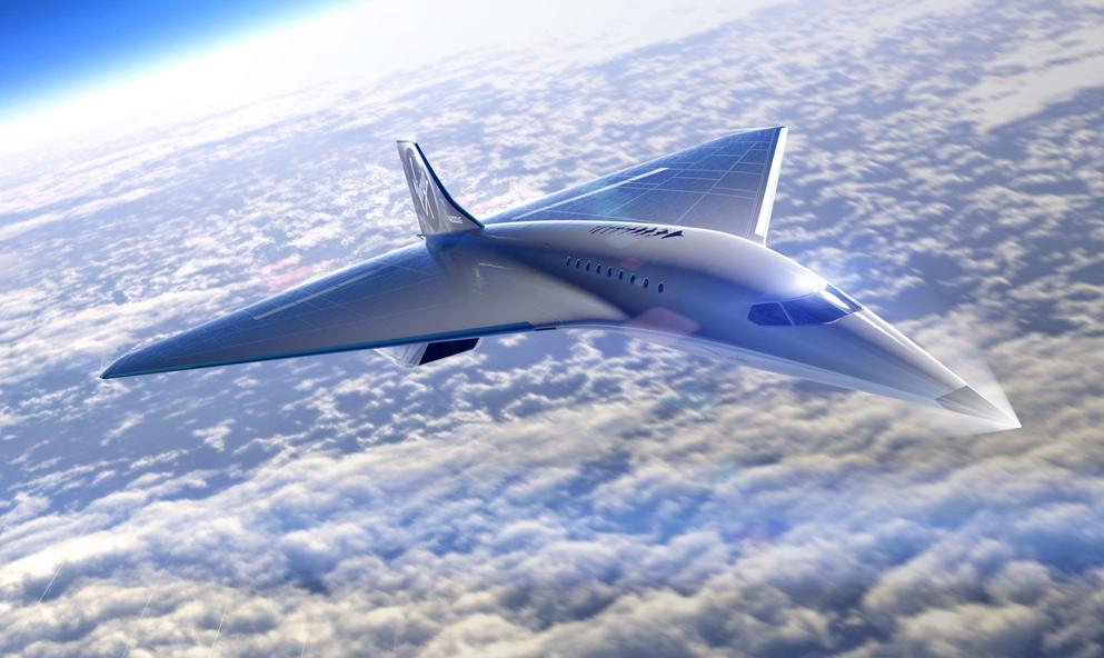 Virgin Galactic promet un avion capable de voler à 3700 km/h