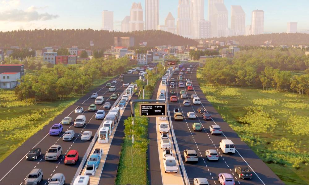 Google développe une route connectée pour véhicules autonomes
