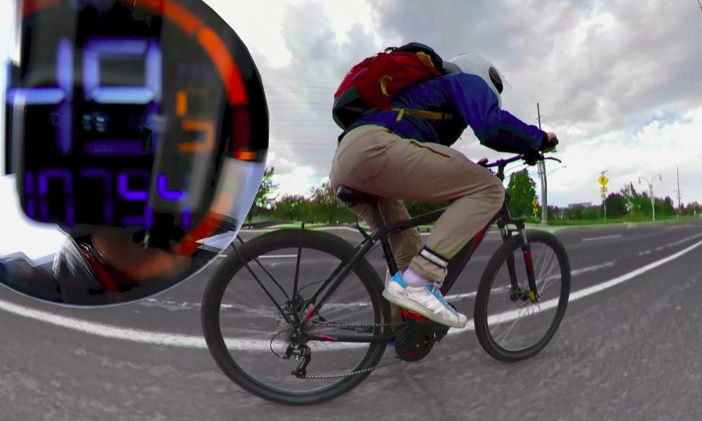 Accrochez-vous, ce kit propulse n'importe quel vélo à 80 km/h