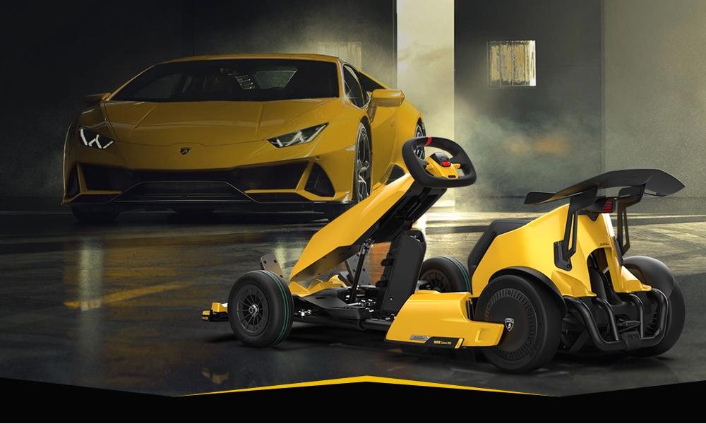 Pour 1200 €, offrez-vous cette Lamborghini en version kart électrique