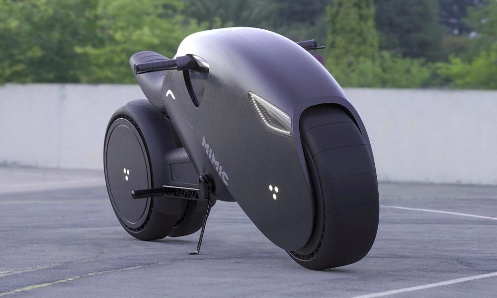 Monter sur cette moto va vous projeter directement dans Tron