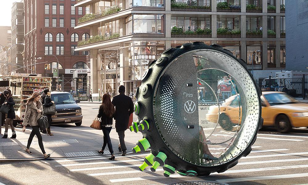 Dans un futur proche, nous roulerons tous dans ce pneu géant