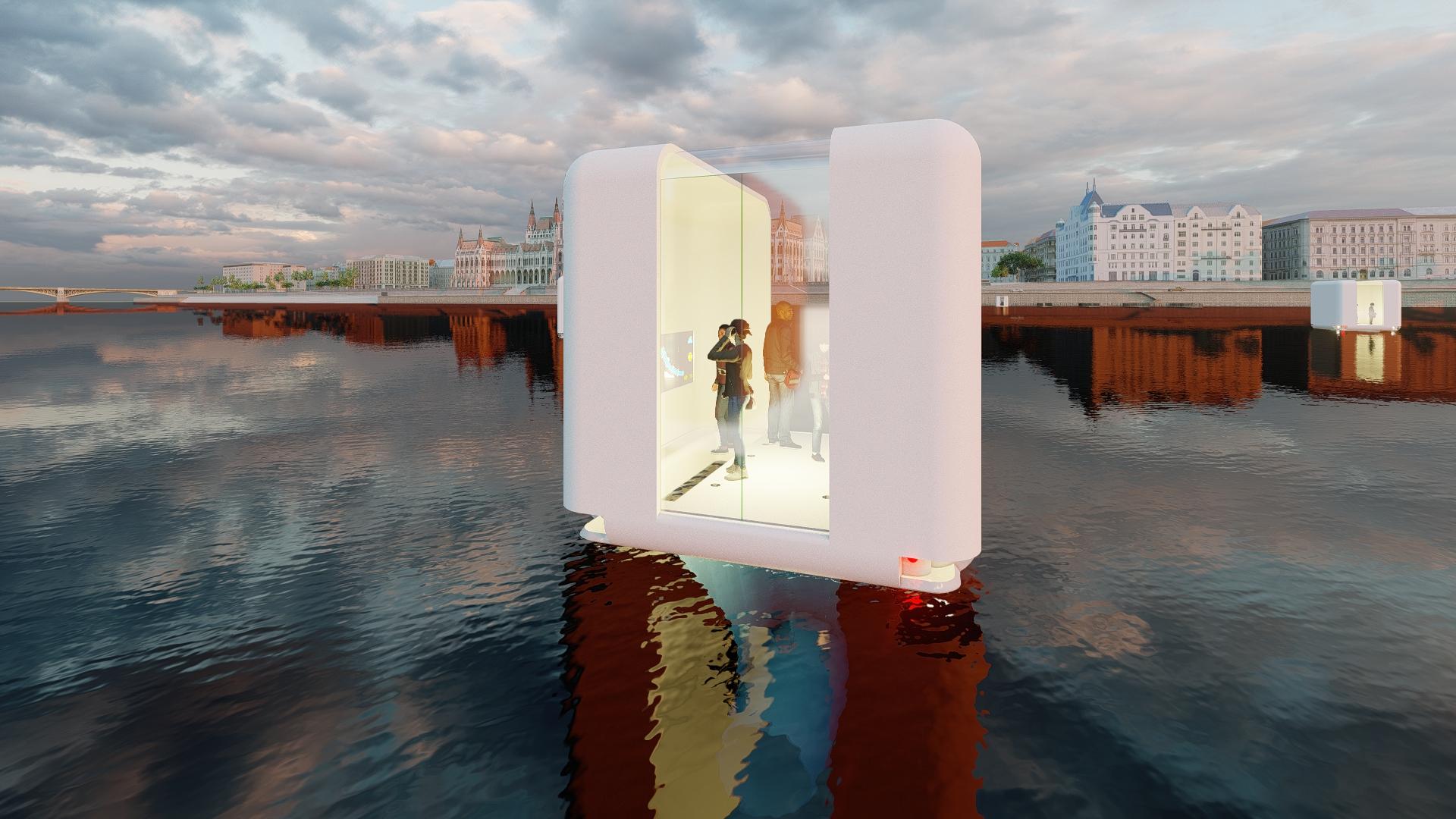 Une startup veut remplacer les ponts par ces ascenseurs flottants