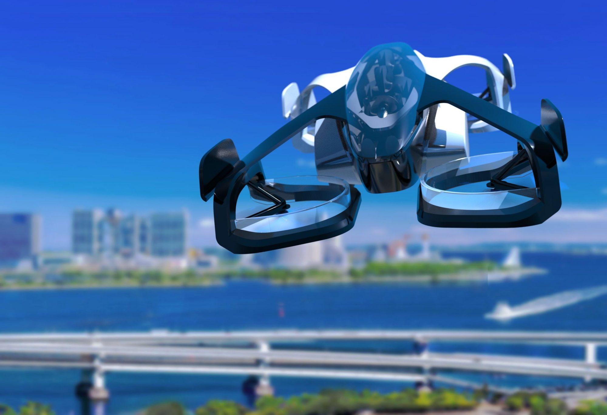 Dans 3 ans, ces voitures volantes vont remplacer les vieux taxis au Japon