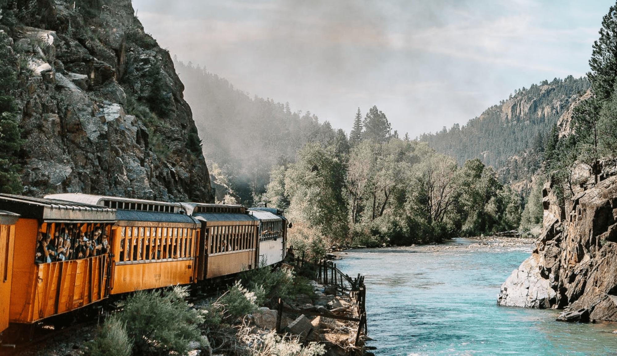 Voyagez sans masque dans ces trains virtuels du monde entier