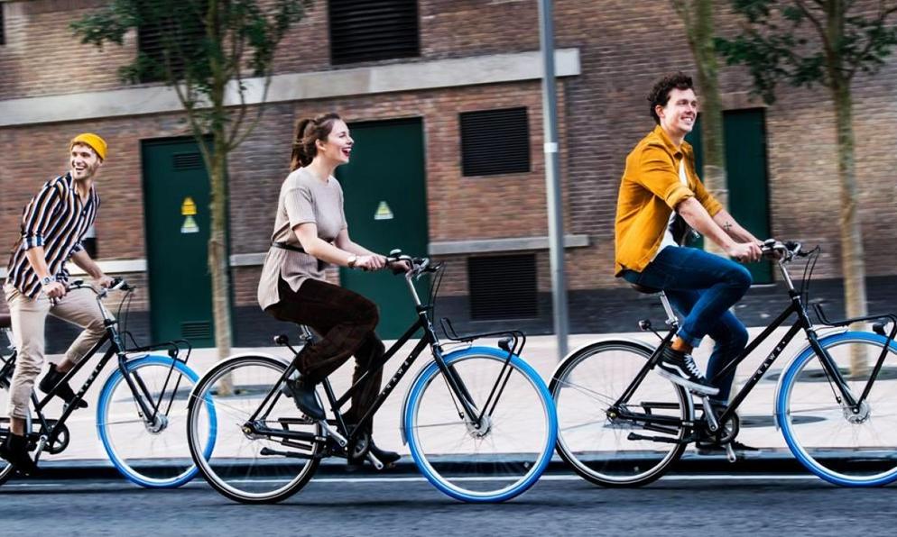 Les vélos Swapfiets, disponibles sur abonnement, débarquent à Paris