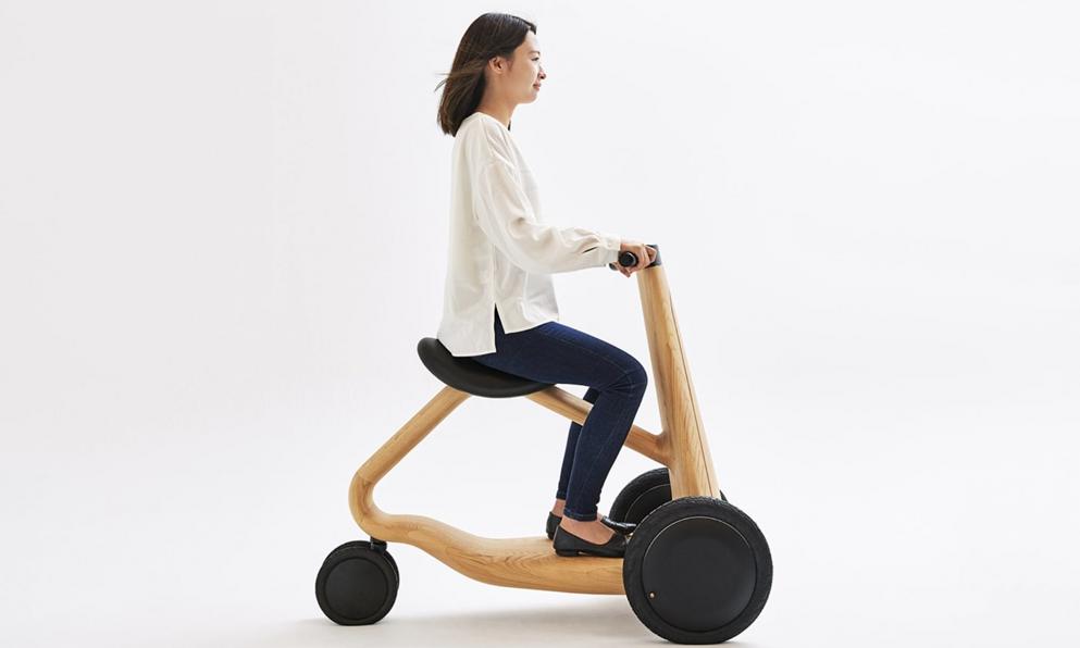 Ce scooter électrique envoie du bois massif
