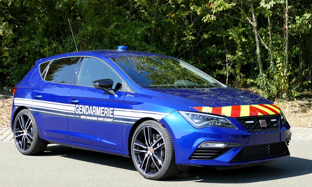 C'est officiel : dès 2021, la gendarmerie roulera… en SEAT CUPRA Leon