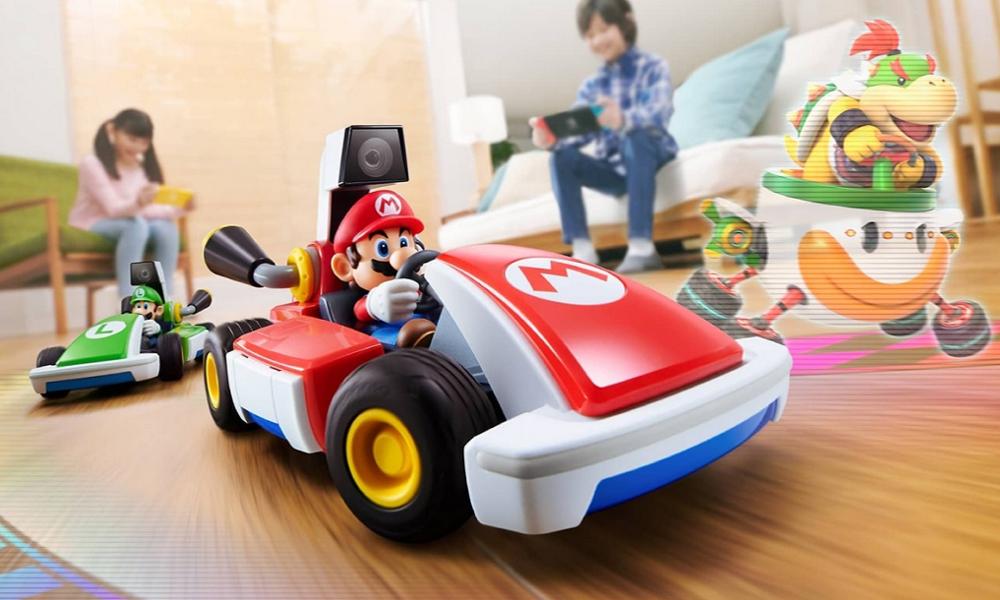 """Nintendo annonce une version de """"Mario Kart"""" jouable en vrai, dans son salon"""