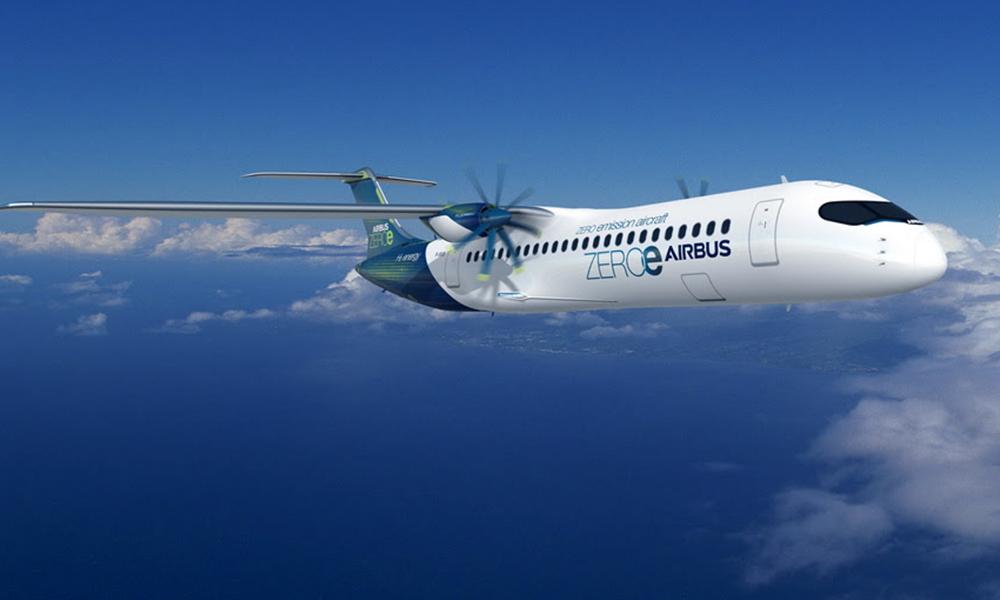 Bye bye kérosène : Airbus annonce 3 modèles d'avions à hydrogène
