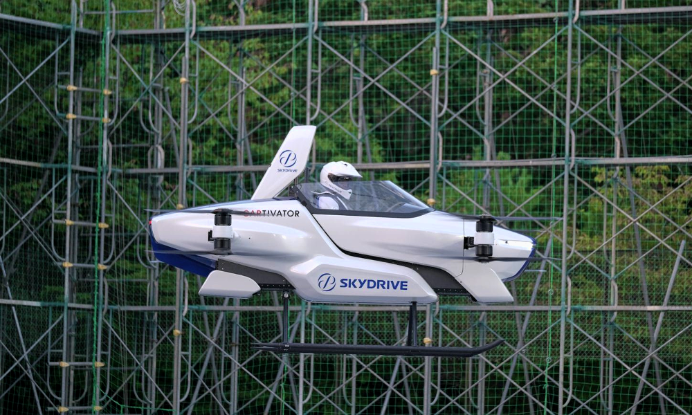 Au Japon, cette voiture volante pourrait servir de taxi dès 2023