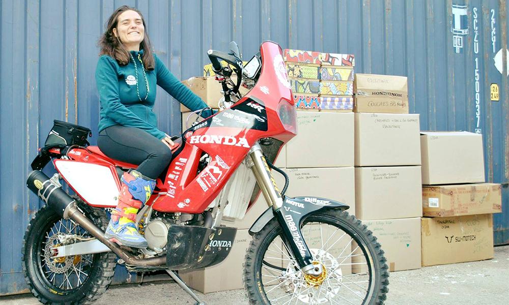 Lydia Truglio Beaumont, la motarde qu'aucun accident ne pouvait arrêter