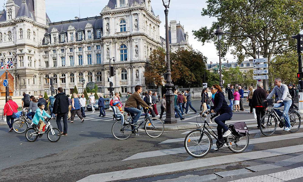 Journée sans voiture : ce dimanche, Paris coupe tous les moteurs