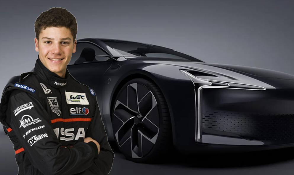 Le plus jeune vainqueur des 24 Heures du Mans lance une berline à hydrogène