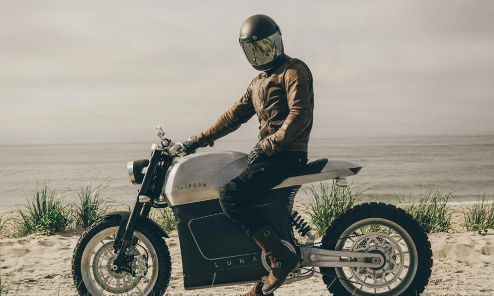 Tarform : une moto biodégradable pour rouler stylé sans détruire la planète