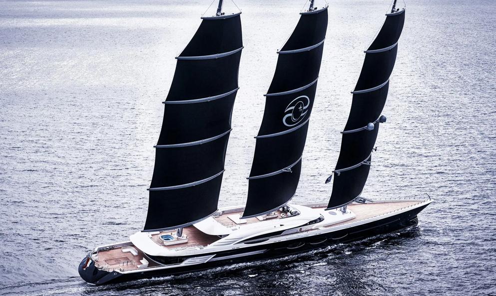 Avec ses 106 mètres, le Black Pearl est toujours le plus grand voilier au monde