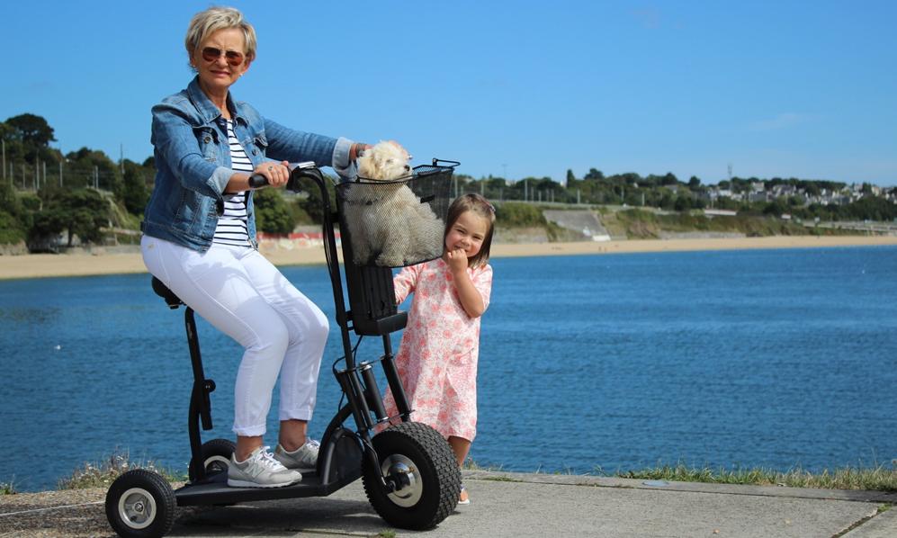 Happy Scoot, la trottinette à 3 roues pour les séniors