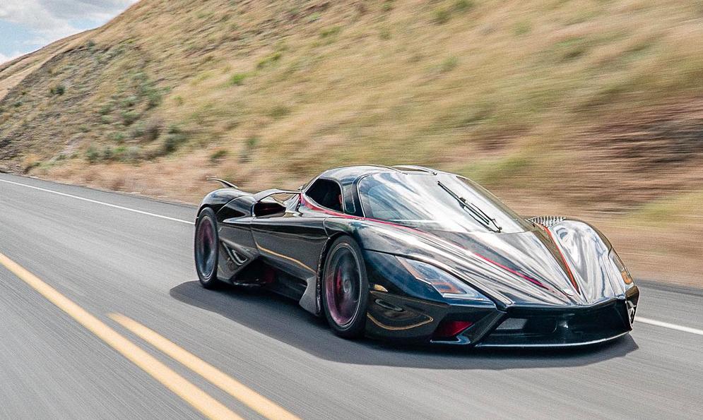 532 km/h : voici la voiture de série la plus rapide du monde